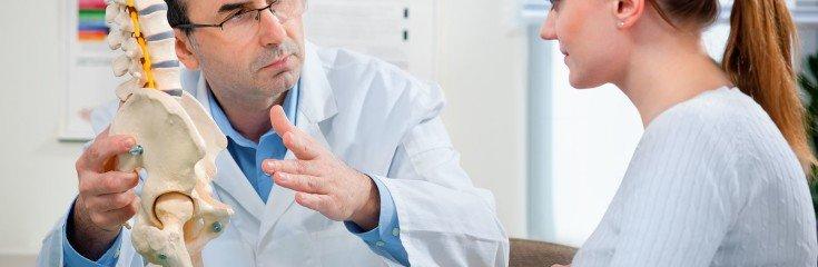 Причины перелома позвоночника